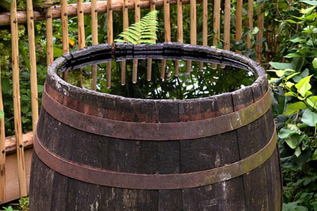 Förderung der Nutzung von Regenwasser
